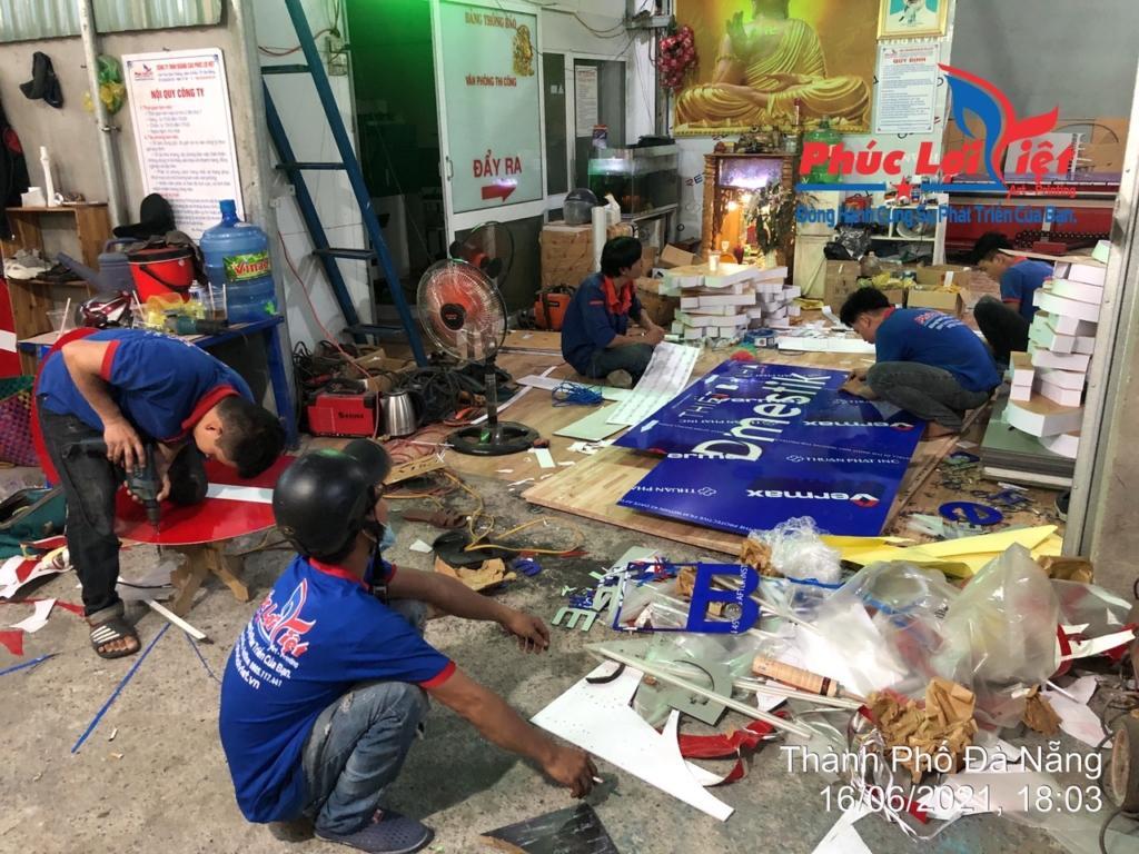 Xưởng thi công Phúc Lợi Việt