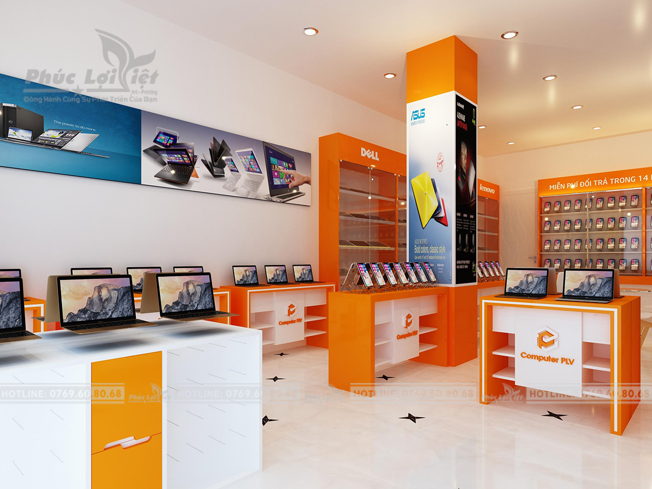 Thiết kế showroom điện thoại tại Đà Nẵng