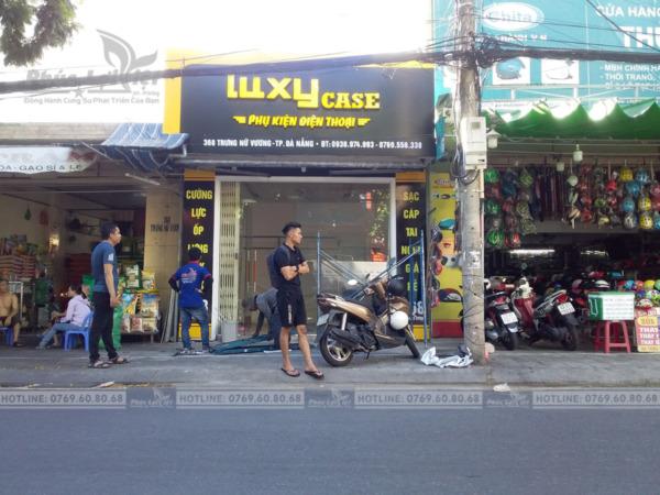 Thi công trọn gói showroom điện thoại tại Hải Châu, Đà Nẵng