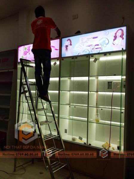 Thi công showroom tại Hải Châu, Đà Nẵng