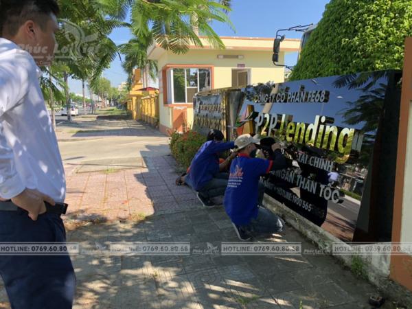 Thi công bảng hiệu quảng cáo tại Ngũ Hành Sơn, Đà Nẵng