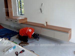 thi công nội thất gỗ công nghiệp gia đình tại liên chiểu, đà nẵng