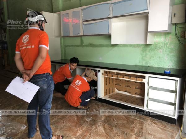 Địa chỉ thi công tủ bếp uy tín tại Đà Nẵng