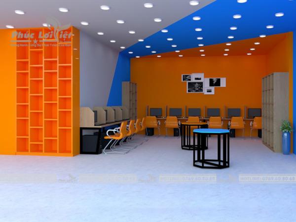 nội thất thư viện trường học tại đà nẵng