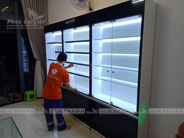 Thi công tủ trang trí gỗ công nghiệp tại Đà Nẵng