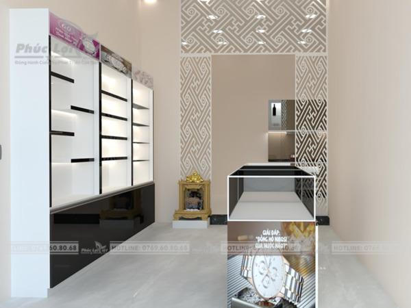 Thiết kế tủ trang trí gỗ công nghiệp tại Đà Nẵng