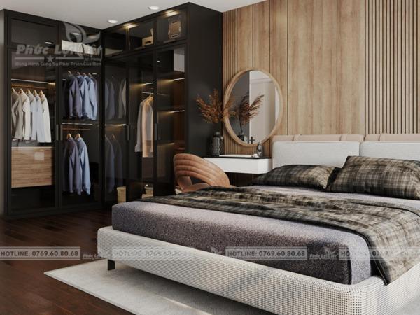 thiết kế nội thất chung cư 76m2 tại Liên Chiểu, Đà Nẵng