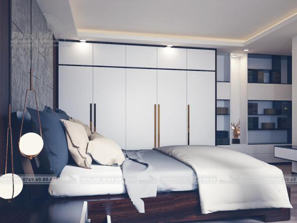 thiết kế nội thất nhà phố 60m2 tại Đà Nẵng