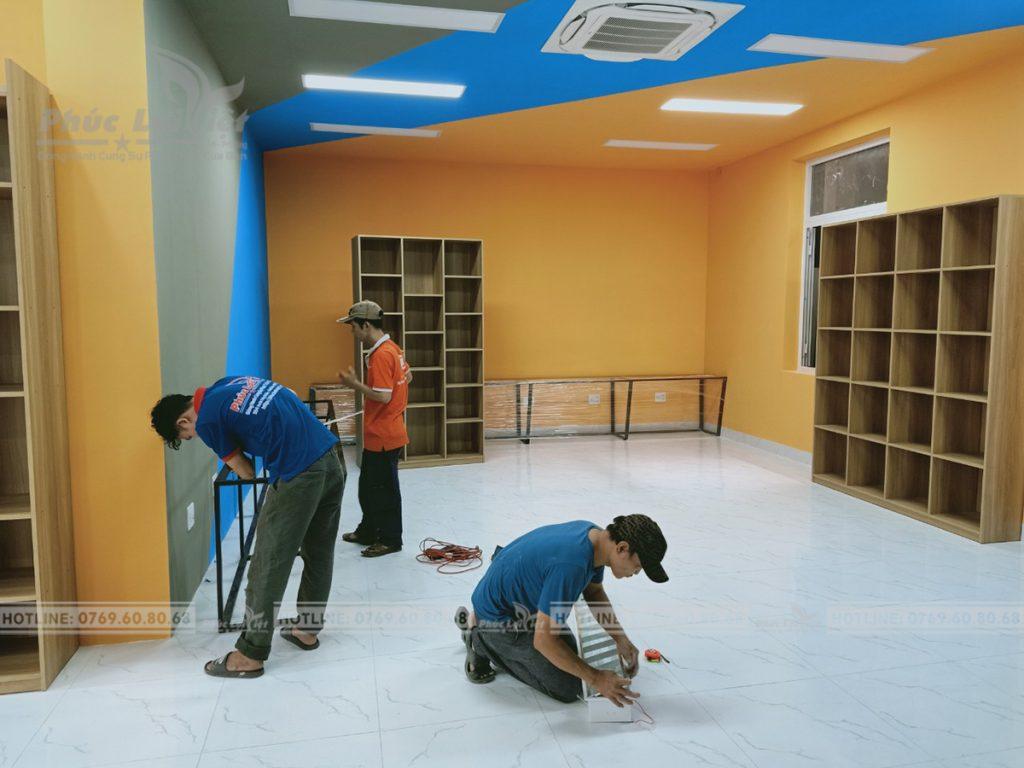 thi công nội thất thư viện tại đà nẵng