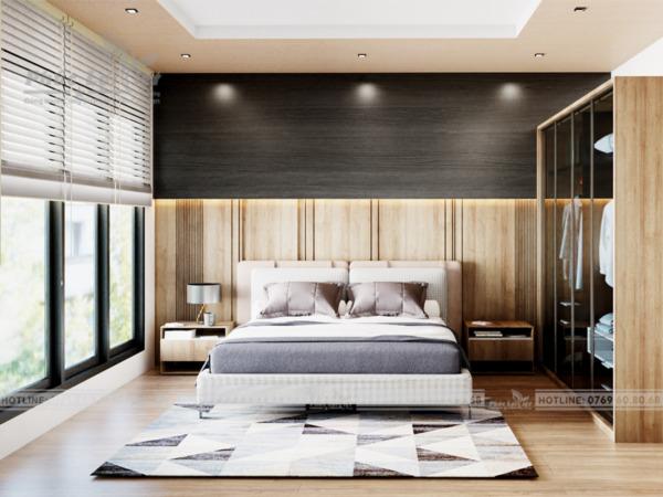thiết kế nội thất căn hộ chung tư 2 phòng ngủ tại Đà Nẵng