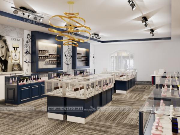 thiết kế nội thất shop mỹ phẩm tại Đà Nẵng