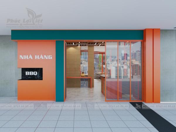 thiết kế nội thất nhà hàng tại Đà Nẵng