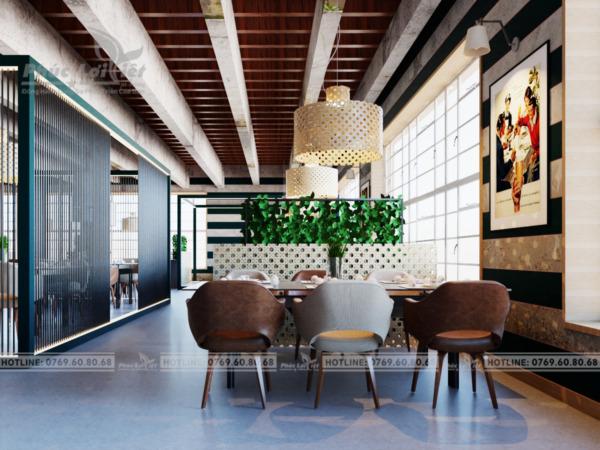 Thiết kế nội thất nhà hàng tại Hải Châu, Đà Nẵng