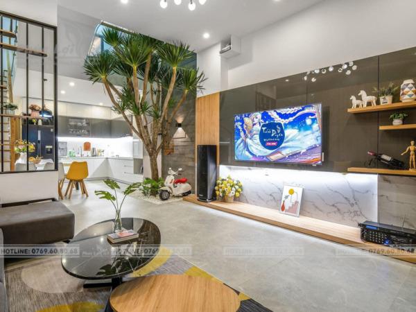 thiết kế nội thất nhà phố tại Ngũ Hành Sơn, Đà Nẵng