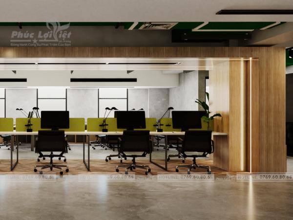 thiết kế nội thất văn phòng tại hải châu, đà nẵng