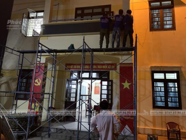 thi công bảng hiệu Led ma trận tại Đà Nẵng