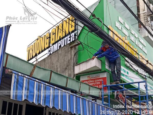 thi công bảng hiệu quảng cáo tại Đà Nẵng