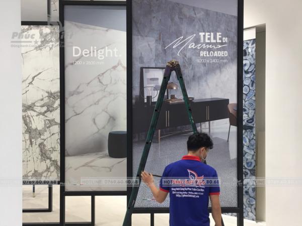 thi công trang trí sản phẩm tại Đà Nẵng