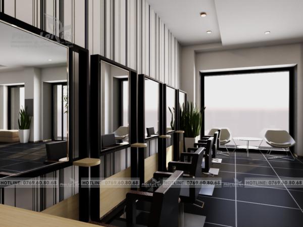 thiết kế nội thất salon tóc tại Đà Nẵng