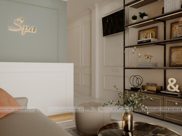 thiết kế nội thất spa tại Đà Nẵng
