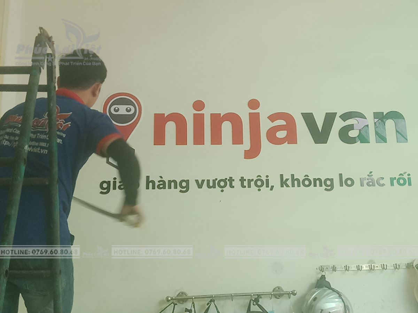 Thi công lắp đặt bảng hiệu quảng cáo tại Hải Châu, Đà Nẵng - Phúc Lợi Việt Đà Nẵng