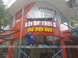 thi công văn phòng vietlott tại Đà Nẵng