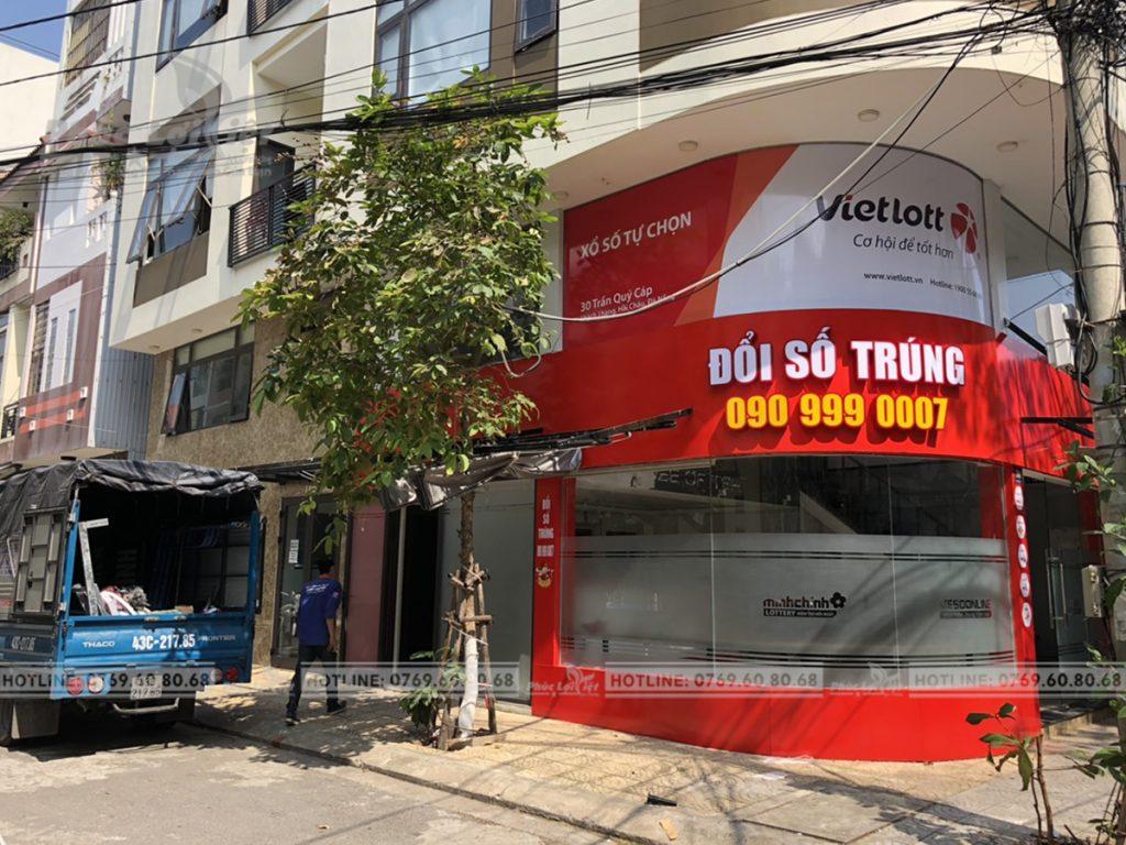 Thi công văn phòng Vietlott tại Đà Nẵng - Phúc Lợi Việt Đà Nẵng