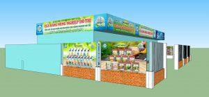 thiết kế bảng hiệu quảng cáo trung tâm bảo vệ thực vật sài gòn tại đà nẵng