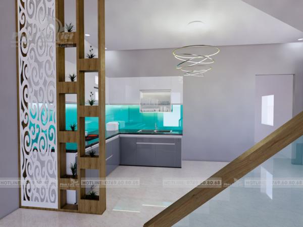 thiết kế tủ bếp gỗ công nghiệp tại Đà Nẵng