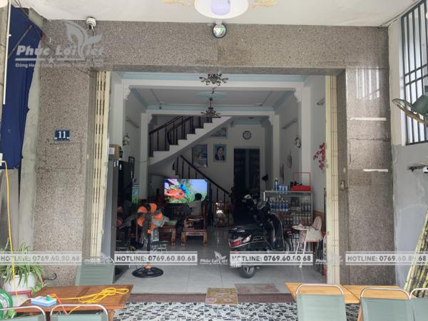 thi công bảng hiệu alu chữ nổi mica tại Đà Nẵng