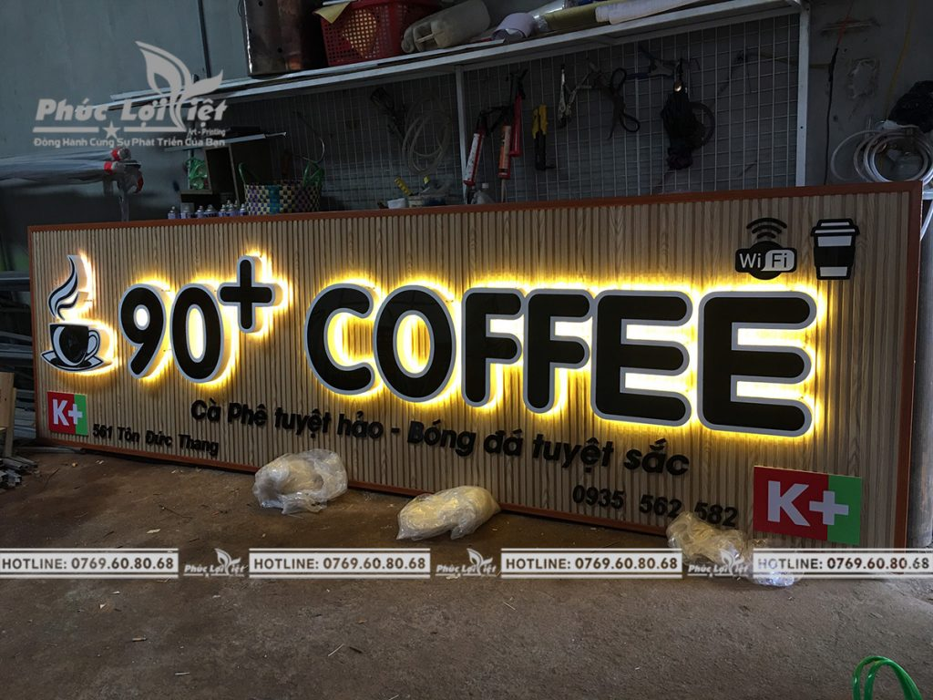 Thi công biển hiệu chất lượng tại Đà Nẵng - Phúc Lợi Việt Đà Nẵng