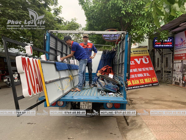 Thi công bảng hiệu quảng cáo Mầm non Hana Kids tại Đà Nẵng