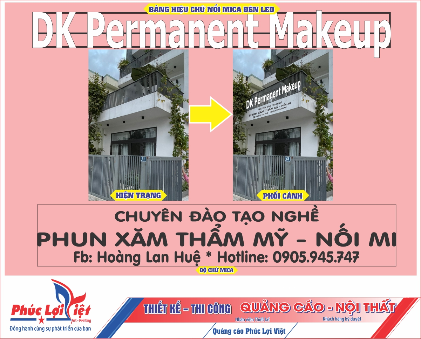 Thiết kế bảng hiệu quảng cáo tại Sơn Trà, Đà Nẵng