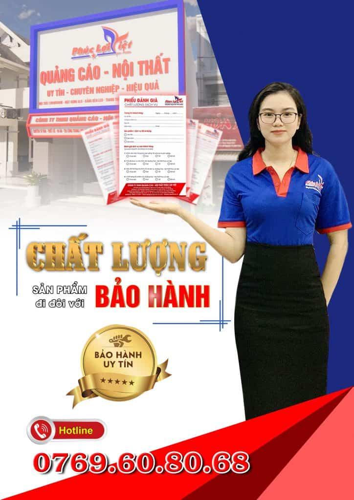 Chính sách bảo hành của công ty Phúc Lợi Việt